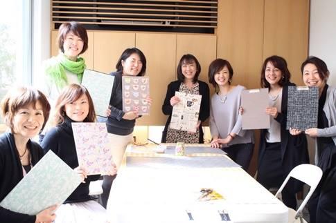 カルトナージュ,クラフト教室,習い事,東京,アトリエキームプロフィール,萩谷麻衣子,講師